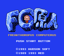 FC原人 Freakthoropus Computerus